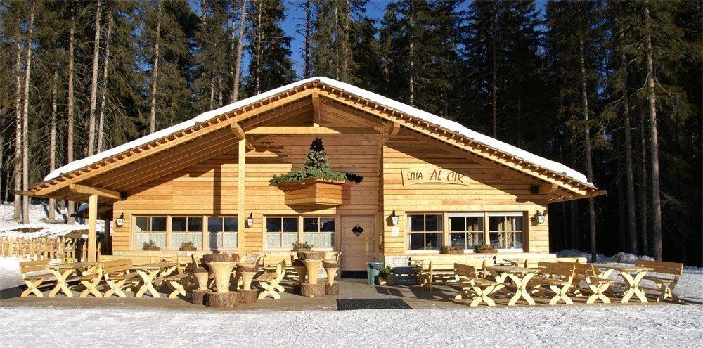 Die Skihütte am Kronplatz/Dolomiten – genussvolle Unterbrechung des Skitages